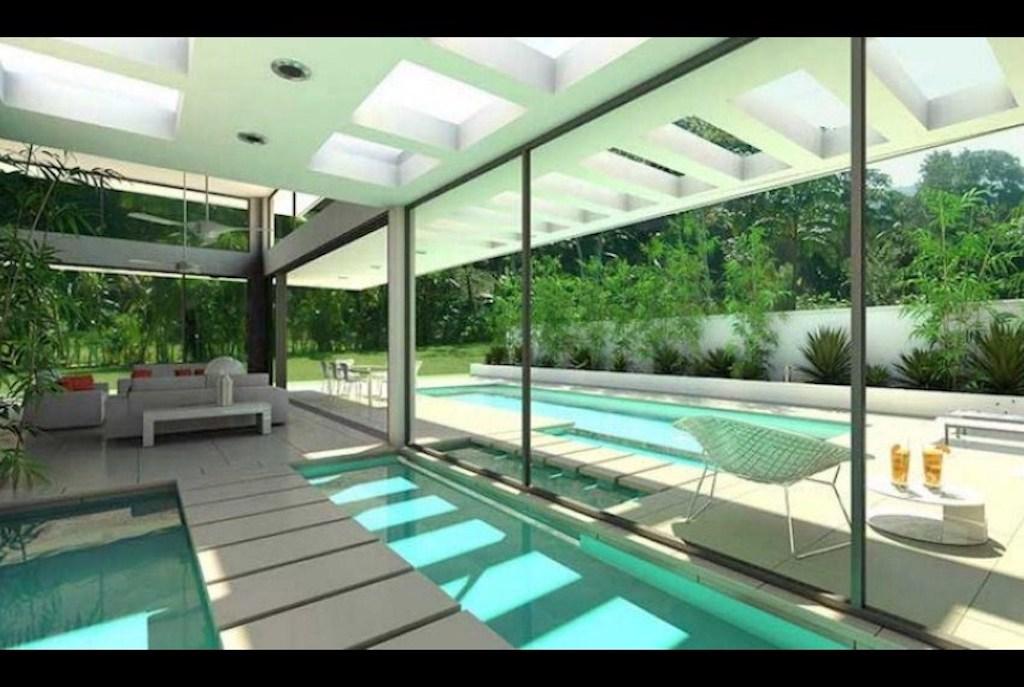 Las terrenas casedamare for Progetto villa moderna nuova costruzione